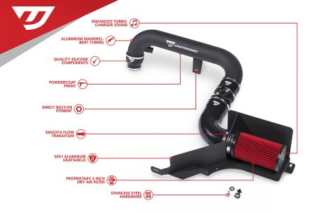 UNITRONIC COLD AIR INTAKE FOR 2.0 TSI GEN 1 (UH001-INA)