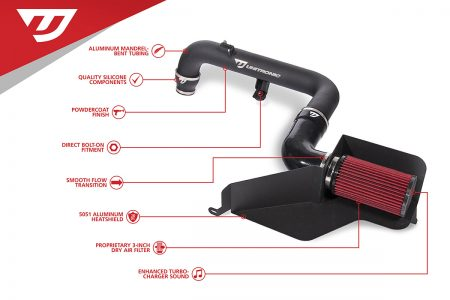 UNITRONIC COLD AIR INTAKE FOR 2.0 TFSI (UH002-INA)