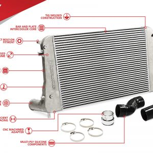 Unitronic Intercooler Kit for 1.8/2.0 TSI Gen3