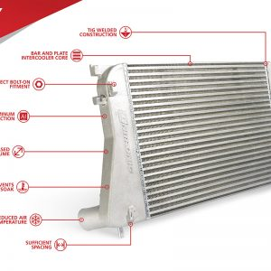 UNITRONIC INTERCOOLER UPGRADE KIT FOR 1.8/2.0 TSI GEN3 MQB (UH009-ICA)