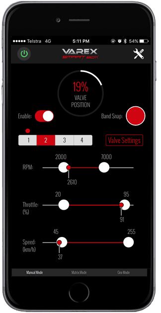 XFORCE Varex Smartbox App